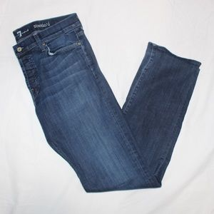 Seven For All Mankind Jeans Straight Leg Size 34